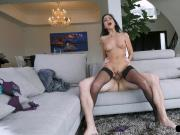 Busty stepaunt sixtynines and rides her stepnephews big cock