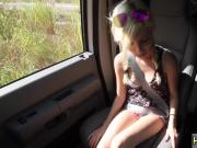 One slave girl Helpless teenager Piper Perri was on her way to visit