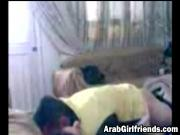 Arab babe banged by horny neighbor