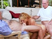 Kissing handjob first time Frannkie And The Gang Tag Team A Door To