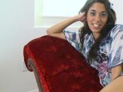 Gorgeous Latina Teen Gia Steel Gets Her Face Pounded