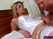 Tranny horny Nicole Bahls riding hard meaty cock for pleasure