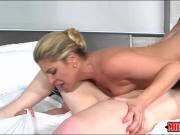 Nikki Capone and Lexxxus Adams hot trio in the bedroom