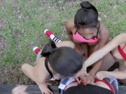 Milf helps teen and dolly golden interracial you nicer believe things