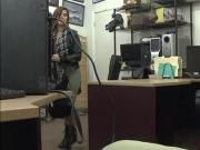 Latina rockstar gets fucked in the pawnshop for big cash