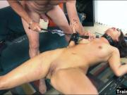 Blair Summers dominated and banged hard by nasty dude
