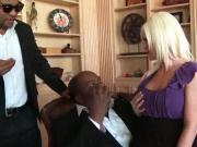 Arousing mom gets butt hole black licked