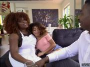 Ebony fucks his cousin Squirting dark-hued playfellow's teens are
