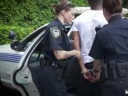 Police woman punished I will catch any perp with a giant black dick,