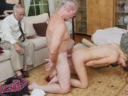 Old spanking young Molly Earns Her Keep