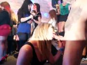 Kinky girls get absolutely insane and nude at hardcore party