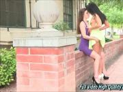 Natalie And Arianna Girls FTV Upskirt in Public
