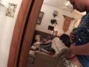 Dude sleeps on the sofa and gets fuck by roommate 1 by