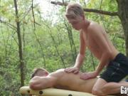 Vadim Lust getting a beutiful sensual massage in the wo
