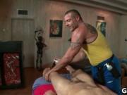 Dude gets super hot gay massage 7 by GotRub