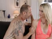 TS girlfriend Nikki gets ass banged hard by her boyfrie