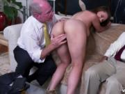Old and young threesome Ivy impresses with her meaty bo
