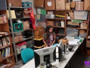 Teen Thief Shane Blair Takes Big Dick In Office