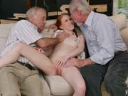 Old man kissing young Online Hook-up