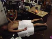 Hot massage from sexy Asian masseur