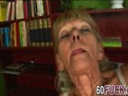 Young stud banging horny mature slut
