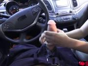Annika Eve getting fuck by step bro in the car