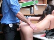 Big tit blonde cop threesome first time Habitual Theft