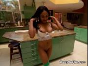 Ebony Beauty Anya Ivy Gets Bent Over By Boss