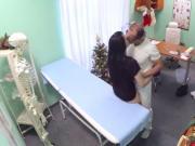Crazy doctor bangig his patient
