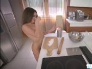 Slim and amateur Anita Bellini meets and fucks her boyf
