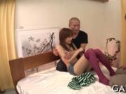 Exclusive gangbang for hot Asian