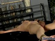 Nude males gay sex video Reece has a jism blast in his