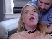 Husband and wife submitting blonde