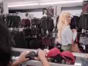Lesbian lingerie shop owner discipline teen