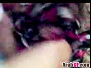 Amateur Arabic couple fucks hard in front of the camera