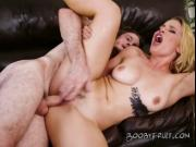 Blonde Vixen Sloan Harper Has Her Pussy Drilled