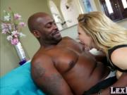 MILF in lingerie Cherie DeVille gets hammered by Lexing