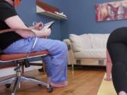 Step dad punish Ass-Slave Yoga