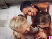 ClaBFF teens Lily Rader and Carolina Sweets and Vienna
