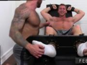 Male feet gay porn Connor Maguire Jerked & Tickle d
