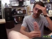 Straight guy drained gay Dude shrieks like a lady!