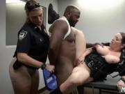 Teen threesome in cinema Milf Cops