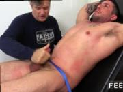 Guys feet tickled gay Casey More Jerked & Tickled