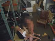 Public bathroom scandal first time Hot Milf Banged At T
