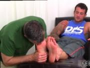 Black gay toes sucking porn movies Ned's sloppy white s