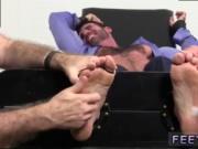 Gay feet domination sex Billy Santoro Ticked Naked