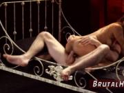 Anal virgin rough and double ended dildo bondage Poor l