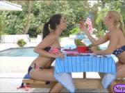 Alexis Deen and Alexis Fawx pleasuring