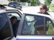 Police officer sluts fucked hard by the arrested black