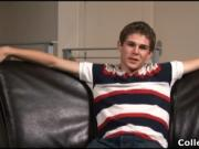 Ryan Dielh busting his amazing college dick hard and sh